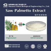 natural 25% saw palmetto extract fatty acid powder