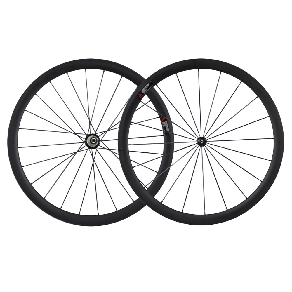 Super light Chinese road wheels 38C carbon road bicycle wheels with carbon hub R36