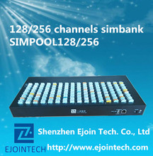 128 ports GOIP call terminal sim bank gsm channel box SIMPOOL128 with group controlling