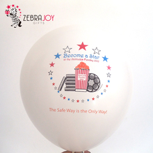 Pvc arch kit air customized logo according to design cheap latex party balloon