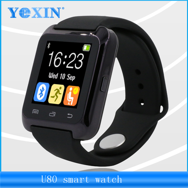 2016 <strong>Hots</strong> U8 Factory Price Promotion Gift Smart Bluetooth Watch For Android Hands Free Call Smart Watch U80