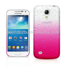 Fashion Waterdrop Raindrop Hard Back Cell Phone Case for Samsung Galaxy S4 Mini i9190