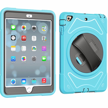 ShockProof Kids Friendly multi-color anti skid tablet case 9.7 inch business cover for ipad 5 air