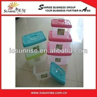 New Plastic/Hard Plastic Clear Lunch Box