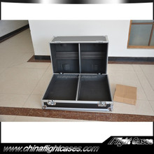 China speaker flight cases Fit for 2 VRX932LA-1 with caster board