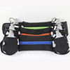 2016 New Product running sport waist bag with two bottle holder, hydration running belt