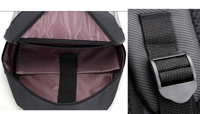 China wholesale teenager school waterproof bagpack soft travel external usb backpack