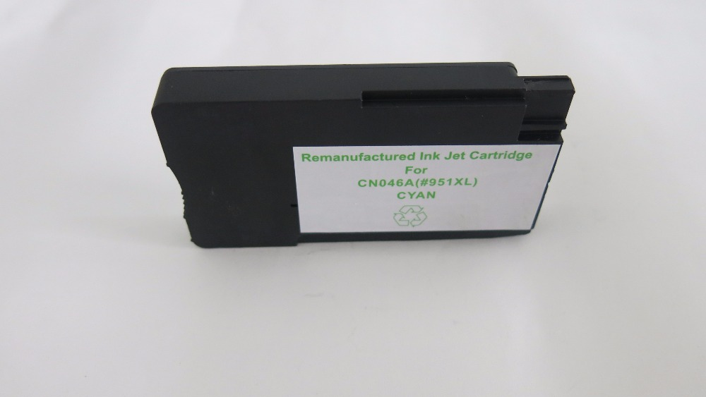 Printer Ink inkjet Cartridges Remanufactured for HP CN046A(#951XL) color