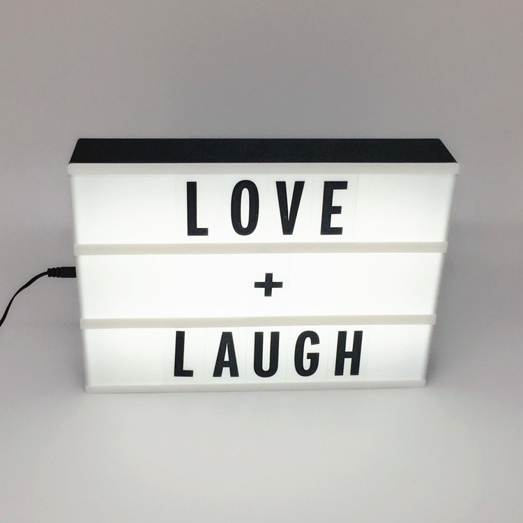 home decoration <strong>advertising</strong> led alphabet letter display light box