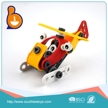 2017 best selling product self assemble car puzzle toy educational game for wholesale