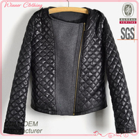 Latest fashion garment factory ladies hot selling brand jacket