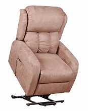 Modern leather single recliner chair bed room chair