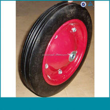 Free sample solid rubber toy wheels