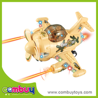 Hot selling plasitc battery operated toys electric model plane