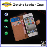 Genuine Leather Case for iPhone 5 5s Laudtec