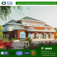 China Supplier Luxury Modern Design Light Steel Framing Prefab Beach Houses Best Price