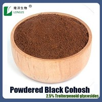 Factory Supply Certified ISO POWDERED BLACK COHOSH EXTRACT