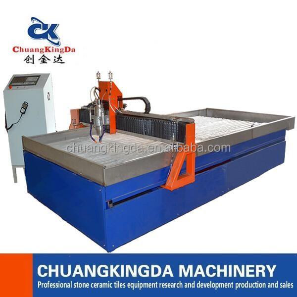 CKD cnc kitchen table drill hole grinding cutting machine for marble granite