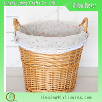 Handmade Home Storage Willow/Wicker/Rattan laundry basket,Hamper