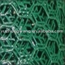 1/2 inch Green Pvc coated hexagonal wire mesh