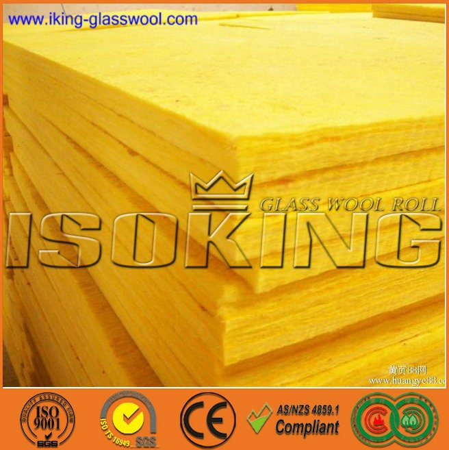 Fire rated glass wool insulation buy glass wool board for Fire rated insulation