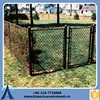 high quality plastic-coated iron and galvanized iron chain link fence best price factory