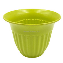 Factory Direct Sale Unbreakable Multi-color optional Wide Mouth Small Plant Pots