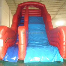 colorful inflatable slide , NO.114 top quality tree inflatable slide