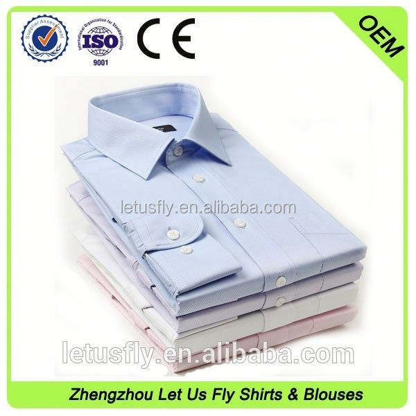 brand name supplier cvc noble business dress shirt for man