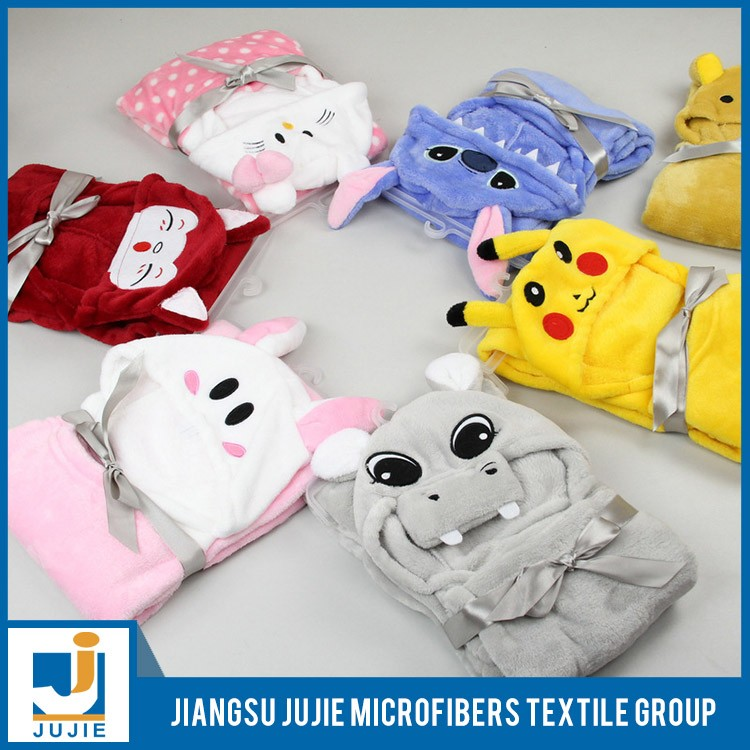 Low Price Guaranteed Quality baby and children animal modelling super soft coral fleece bathrobe