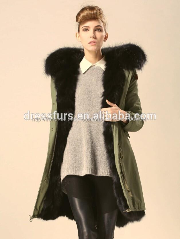 mode gros r el fourrure de renard manteau femmes manteau. Black Bedroom Furniture Sets. Home Design Ideas