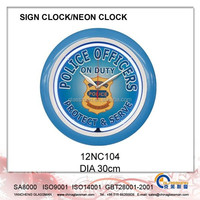 Wall decoration Neon clock/LED clock 12NC104