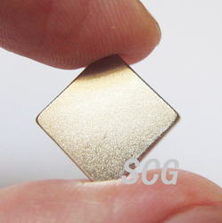 Square N35 neodymium magnet with nicuni coating