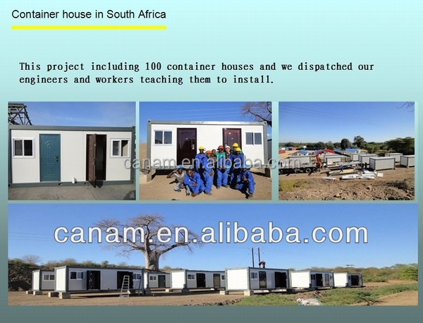 CANAM verwater prefab prefab house wooden bungalow for sale