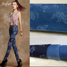 Aufar textile cotton/polyester stretch knit fabric dye jacquard fabric