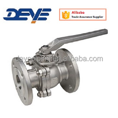 API600 Cast Steel Flanged End WCB Ball Valve