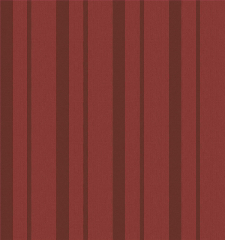 Cheap price exported striped red and black wallpaper