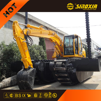high quality swamp excavator SX300SD buggy