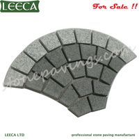 Cobblestones for sale pavers flamed mesh driveway