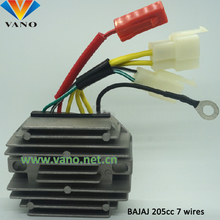 factory price 12v 8 wires voltage regulator rectifier bajaj 3 wheller 4s