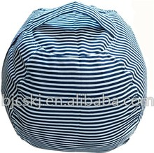 Animals Store Bean Bag Chairs,High Quality 100% Cotton and Extra Long Zipper