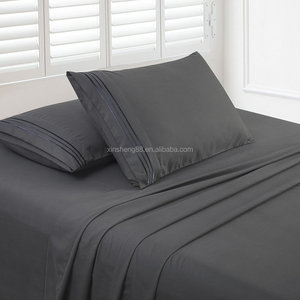 elegant comfort 1500thread count polyester 4pc sheet set with deep pocket