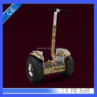 "Golf 19"" electric scooter samsung battery motor scooter off road 2 big wheels smart self balance electric scooter"