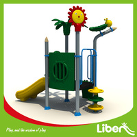 Plastic Playground,LLDPE Material and Outdoor Playground Type Children garden play equipment Puerto Rico
