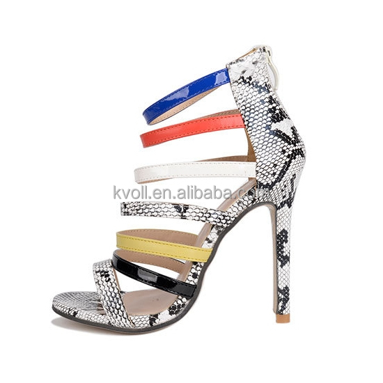 2017 Wholesale Italian Stiletto High Heel Sexy <strong>Sandals</strong>