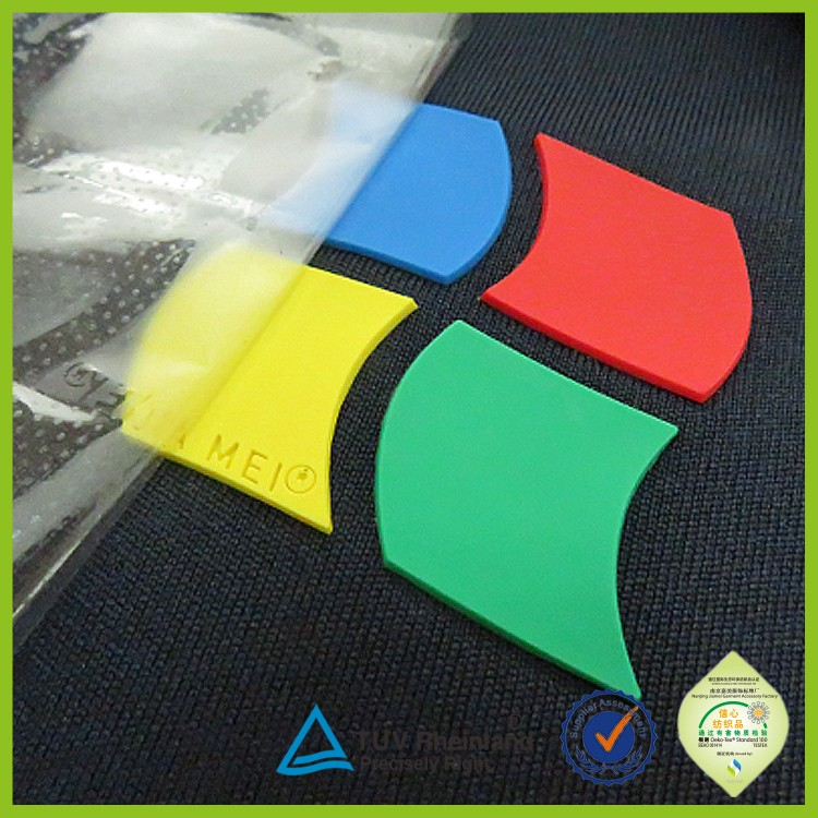 t shirt printing factory custom silicone heat transfer labels for clothing
