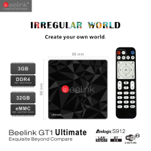 Beelink GT1 Ultimate 3GB/32GB Box Android 6.0 TV Box Amlogic S912 Octa Core 4K 10bit support Dual WIFI