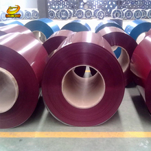 High quality G550 prepainted corrugated color coated steel roofing plate