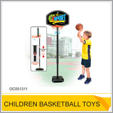 Sport plastic basketball hoop stand toy for kids OC051311