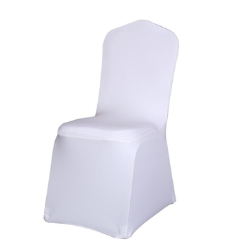 Lightweight And Universal White Chair Seat Cover